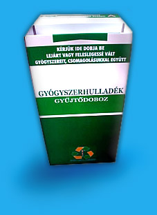 Lejárt szavatosságú gyógyszerek átvétele - Recyclomed